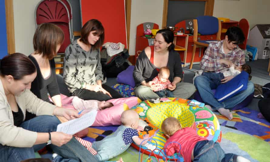 The Mothers Uncovered support network in Brighton.