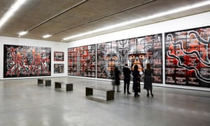The MAC's current exhibition is Gilbert & George Scapegoating Pictures for Belfast (until 22 April).