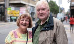 Sue and Dave Hodgson.