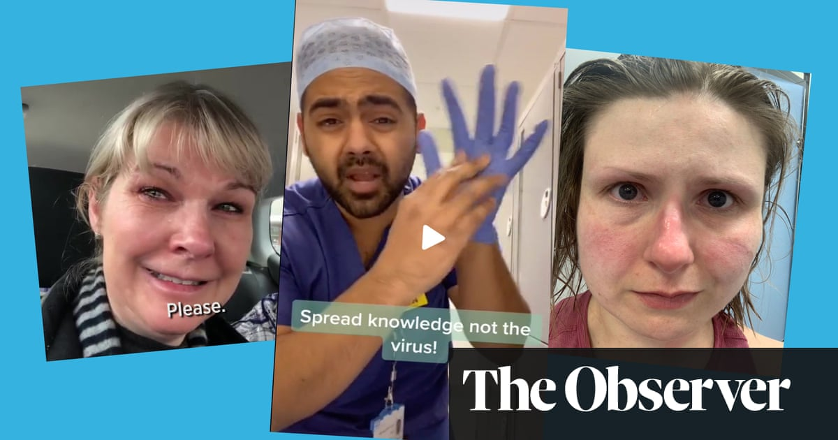 We need to keep talking about how we're feeling: the NHS staff who became social media stars