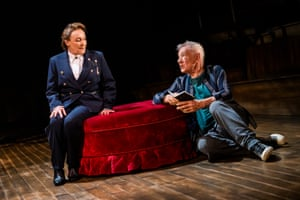 Frances Barber plays Polonius.