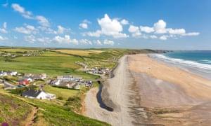 Newgale beach, Pembrokeshire.
