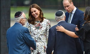 The Duke and Duchess of Cambridge during a visit to the Stutthof former Nazi concentration camp in Poland in July.
