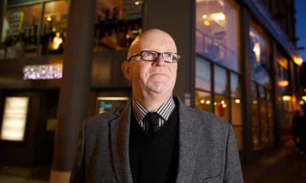 Dave Moutrey, chief executive of the HOME arts centre, Manchester.