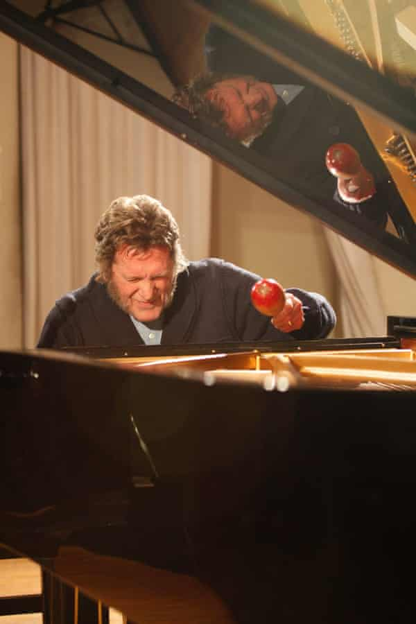 Keith Tippett at the piano in 2012