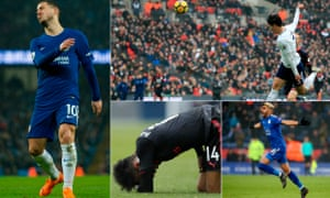Eden Hazard cut a frustrated figure, Son Heung-Min is in good form, Arsenal have hit a new low and Riyad Mahrez caught the eye.