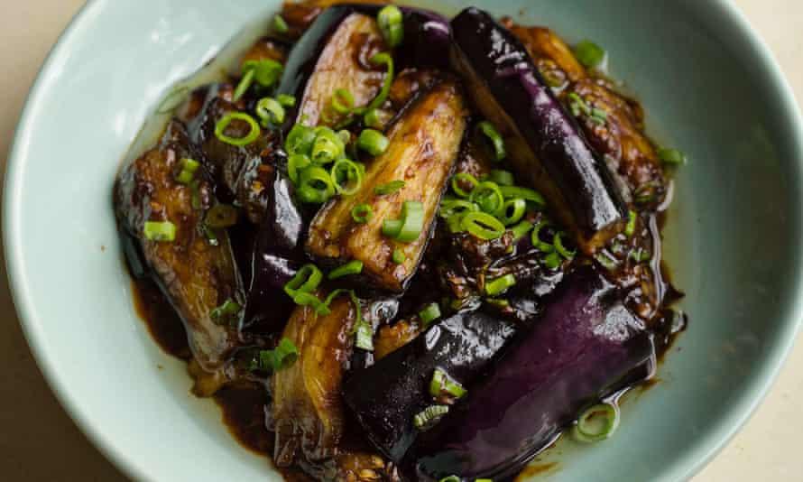 Hangzhou aubergines.