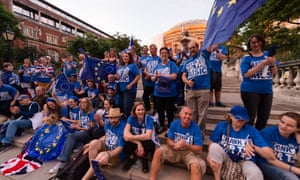 'Thank EU for the Music' demonstration - and performances - outside the Royal Albert Hall on the Last Night of the Proms