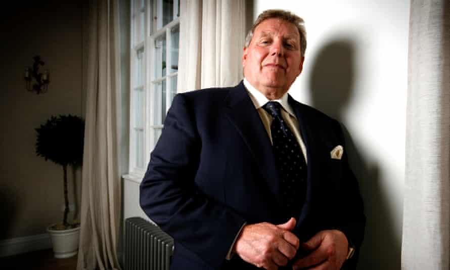 Tony Pidgley, head of the Berkeley Group.