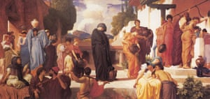 Captive Andromache by Frederic Leighton.