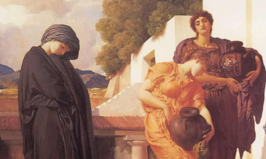 Captive Andromache (detail) by Frederic Leighton, c1888.