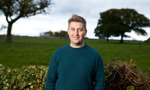 Ben Findlay at home near Chester.