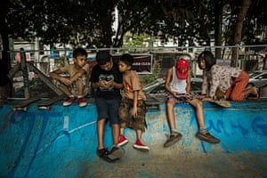 In 2013, the government of Myanmar, as part of an ongoing liberalising project, abolished a 25-year ban on public gatherings of more than five people. Two years later, its first international-standard skatepark opened.