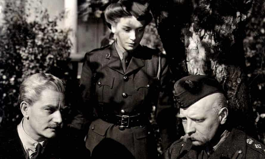 Anton Walbrook, Deborah Kerr and Roger Livesey in The Life and Death Of Colonel Blimp.