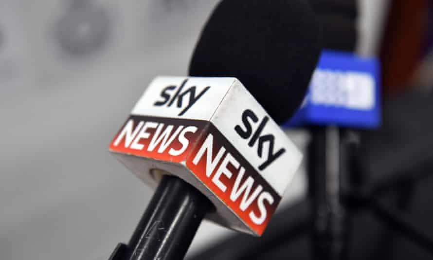 Sky News mic