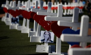 58 crosses for victims of Las Vegas shooting