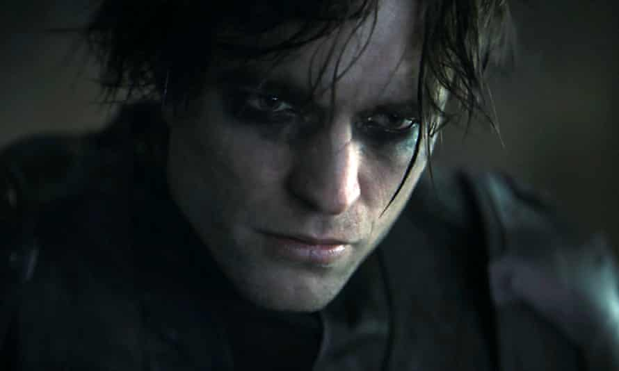 Hero to zero: a glum Robert Pattinson as The Batman.