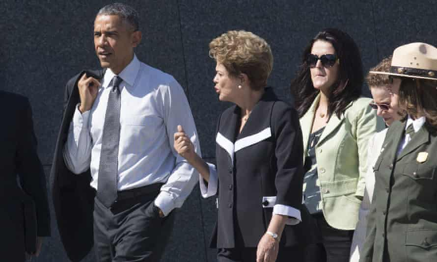 Barack Obama and Dilma Rousseff