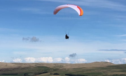 Paragliding in County Antrim