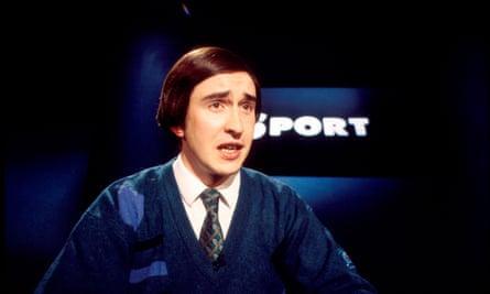 Coogan as Partridge in 1994.