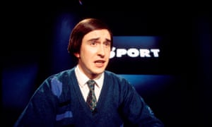 Steve Coogan as Alan Partridge in 1994.