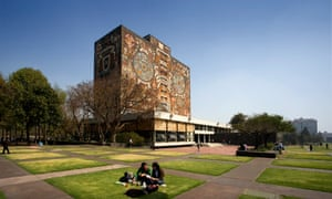 The main campus of the National Autonomous University of Mexico in Mexico City.