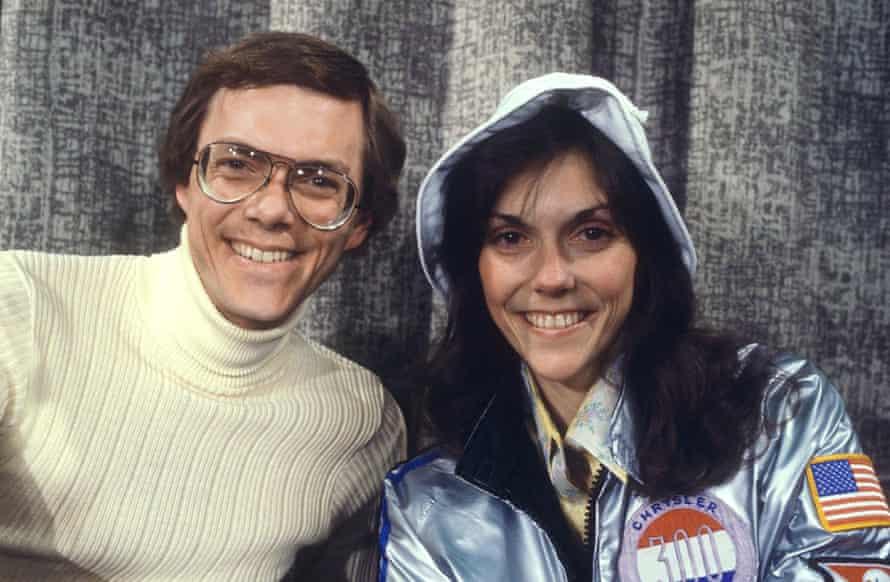 Richard and Karen Carpenter in 1978.