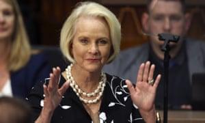 Cindy McCain, seen in 2020.