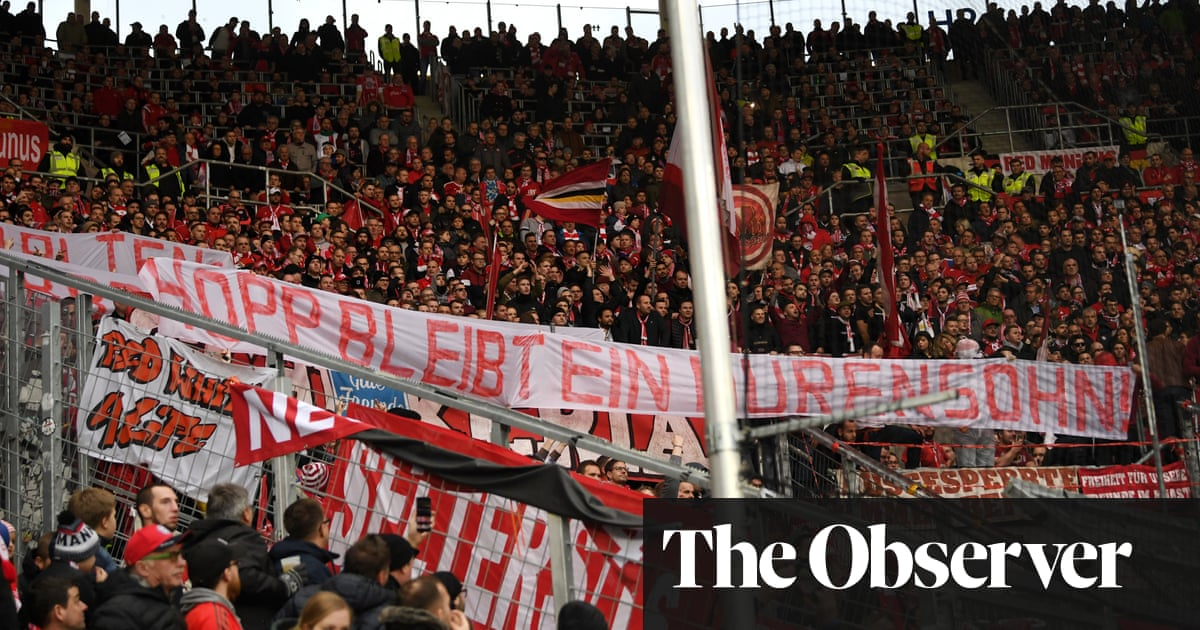 Bayern Fans Offensive Hopp Banner Causes Farcical Finish At