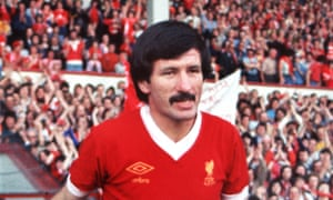Tommy Smith, pictured before his testimonial at Anfield in 1977.