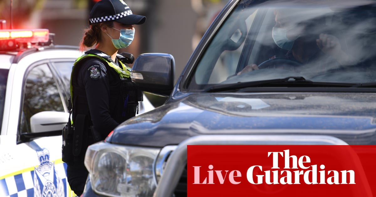 Australia Covid live news update: NSW reports 1,331 cases and six deaths; Victoria records 535 cases and one death as police move to block protests; ACT has 15 new cases
