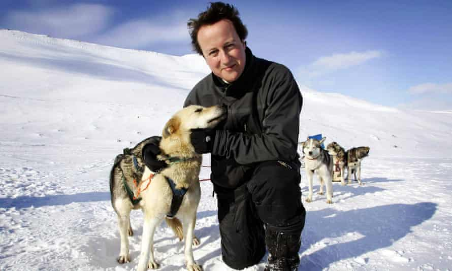 'The husky-hugging years were horribly painful for many Tories, but confounding voters' expectations of what it meant to be a Tory ironically enabled Cameron to win.'