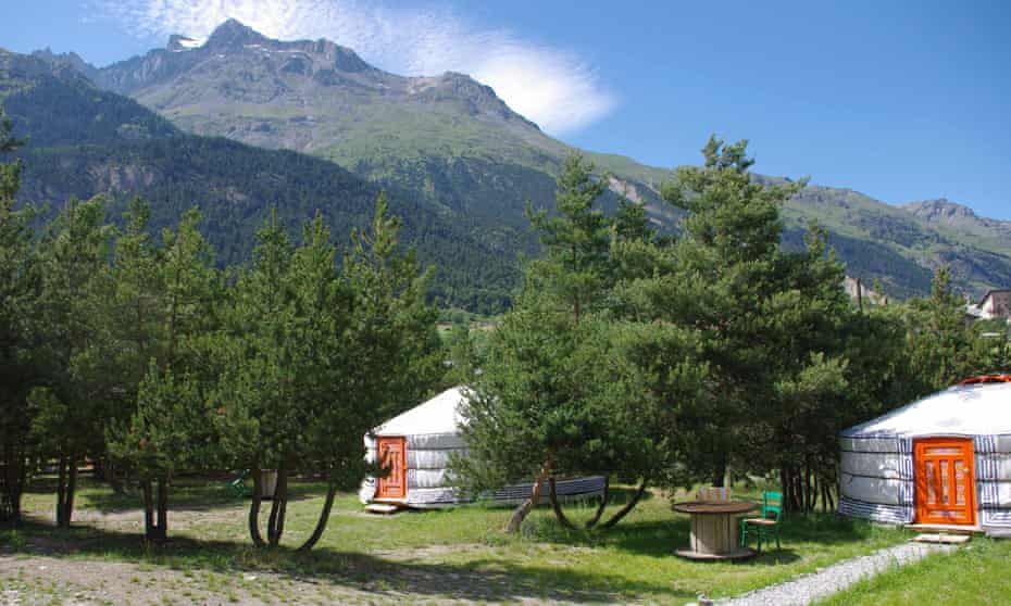 Campsite Le Chenantier, Sollieres Sardieres, France