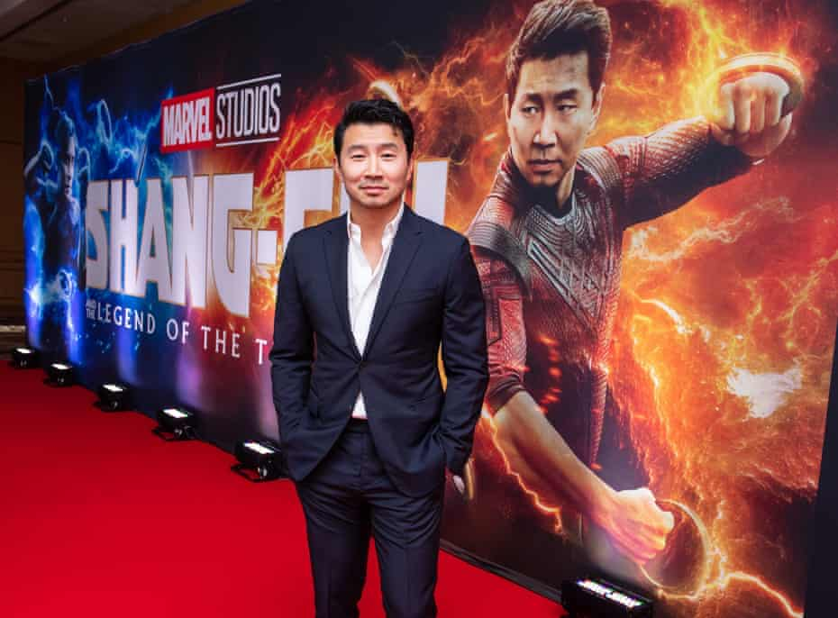 Simu Liu attends the Canadian premiere of 'Shang-Chi and the Legend of the Ten Rings in Toronto on 1 September.