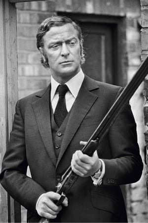 On the set of gangster classic Get Carter, directed by Mike Hodges, 1970