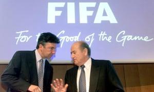 Sepp Blatter in 2002