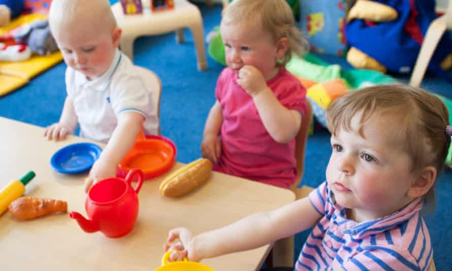 Children play at Spark Burntwood, Staffordshire.