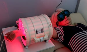 A medical laser being used in a Russian facility.