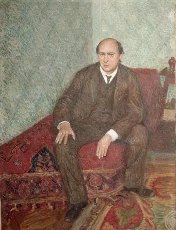 Portrait of Arnold Schoenberg by Richard Gerstl.
