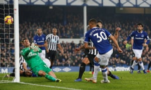 Richarlison saves Everton by scoring the equaliser against Newcastle.