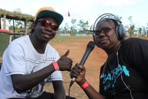 Sylvia is an announcer for Yolngu Radio.