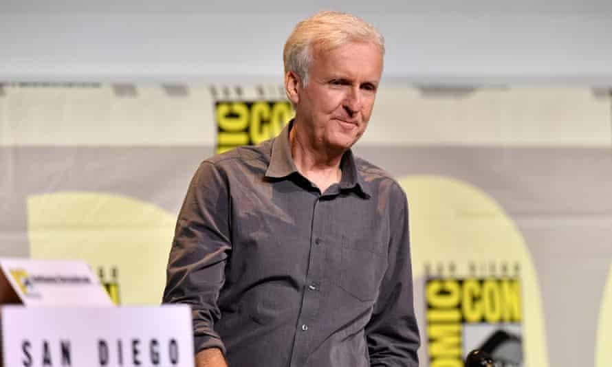 Director James Cameron at Comic Con.