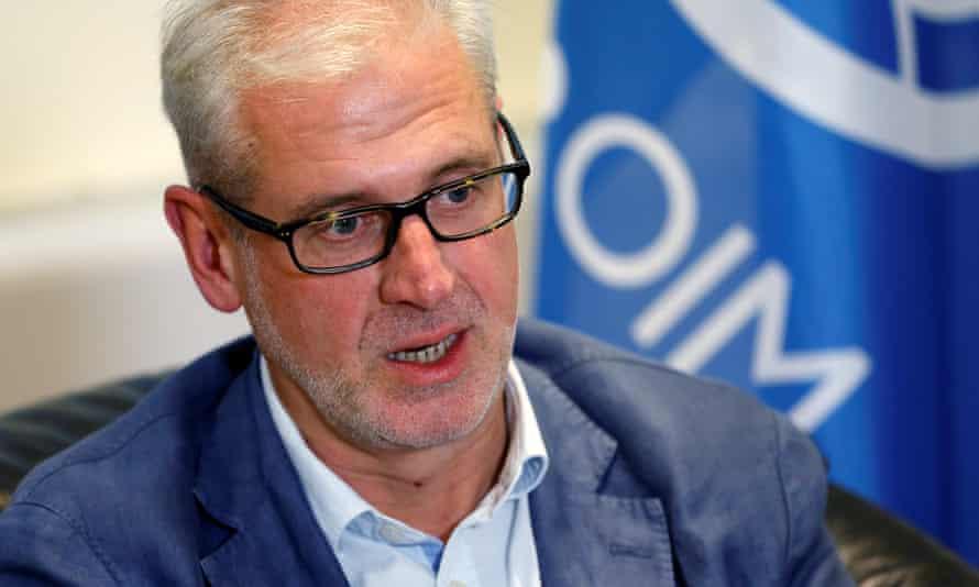 Laurent de Boeck, head of the IOM's Yemen mission: