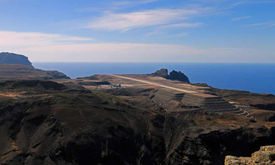 St helena airport project failure