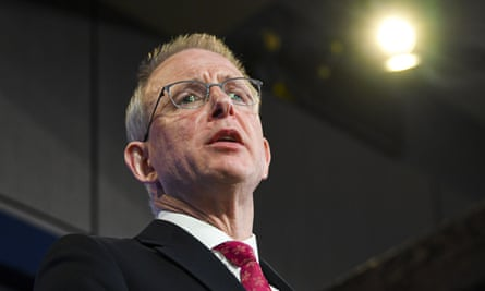 Paul Fletcher addresses the National Press Club on Wednesday