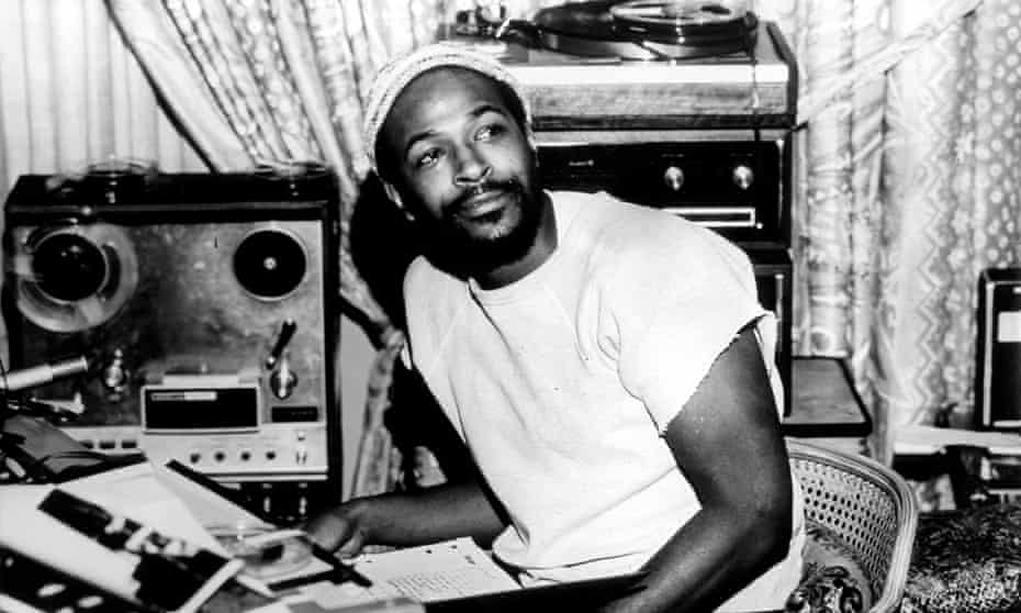 'A crucial step towards forming his own nuanced artistic identity.' ... Marvin Gaye.
