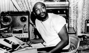 'Soul's past tied together with its present' ... Gaye in the early 1970s.