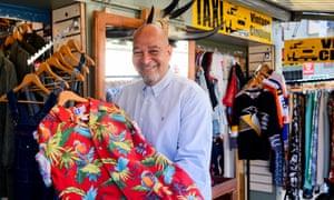 Mark Wright in Noriwch market