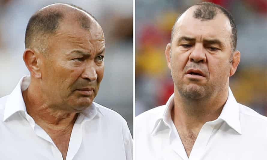 Eddie Jones's England against Michael Cheika's Australia is the hardest semi-final to call.