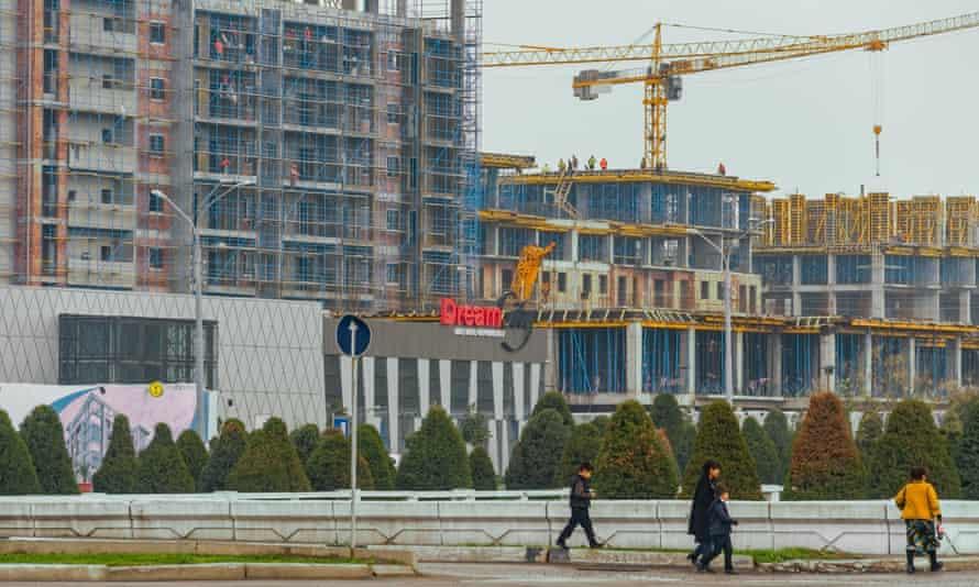 Property development in Tashkent